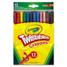 12 Twistable Crayons