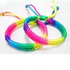 Bracelet Neon Braid