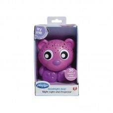Bear Night Light Pink