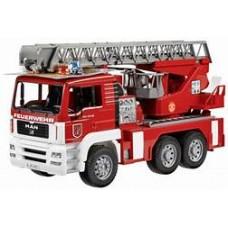 Man Tga Fire Engine W Ladder Water Pump L+S Module