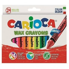 Wax Crayons Jumbo Box Of 24 Pcs
