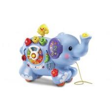 Pull & Play Elephant (Vtuk)