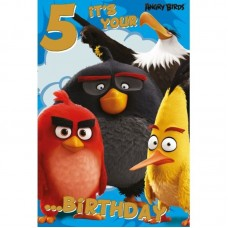 Angry Birds Age 5  Fav  #