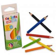 Mini Tita 7Cm Color Pencil Box Of 6 Pcs
