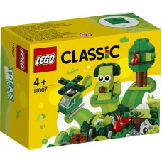 11007 Creative Green Bricks