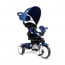 Q Play Comfort 4-In 1 Trike Blue