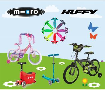 MICRO & Huffy