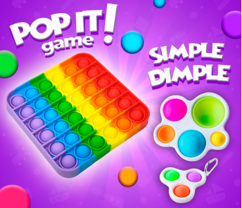 Yeni POP IT Game and Simple Dimple