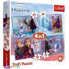 Puzzle 4 In 1 Frozen 2