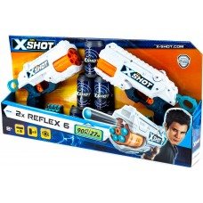 X-Shot Excel - Reflex 6 Combo Pack