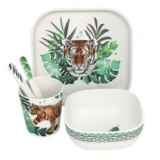 Wild And Free Bamboo Dinner Set