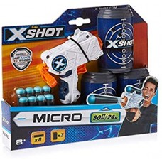 X-Shot Micro & Cans      #