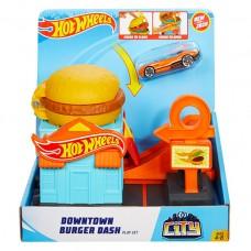 Hot Wheels City Hamburger Shop Hot Wheels