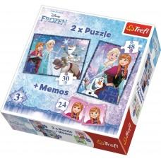 Puzz & Memo Frozen      #