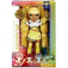 Rainbow High Cheer Sunny Madison – Yellow Fashion Doll With Pom Poms