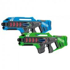 Impulse Laser Gun Rifle Set Blue/Green